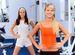 Почему полезно заниматься фитнесом с подругой?