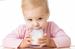 Молочные продукты для детей: где можно покупать?